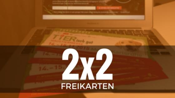 2x2 Freikarten für TIERisch gut Heimtiermesse Karlsruhe - ScaperNews 6.2015