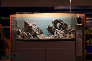 Aquarium einrichten Tipp: 100kg Hardscape Verwenden