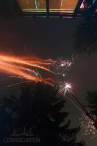 Aquarium Umzug - Feuerwerk